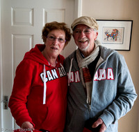 Ruth and John, honourary Canadians.